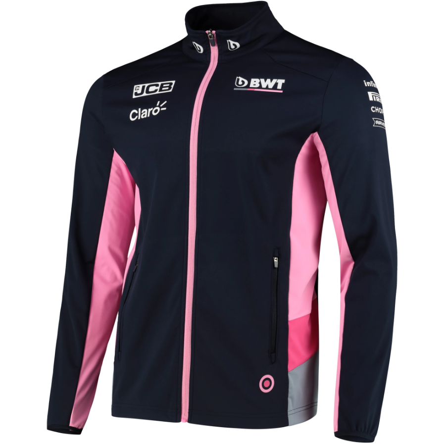 Racing Point F1 2020 Men's Team Rain Jacket Blue