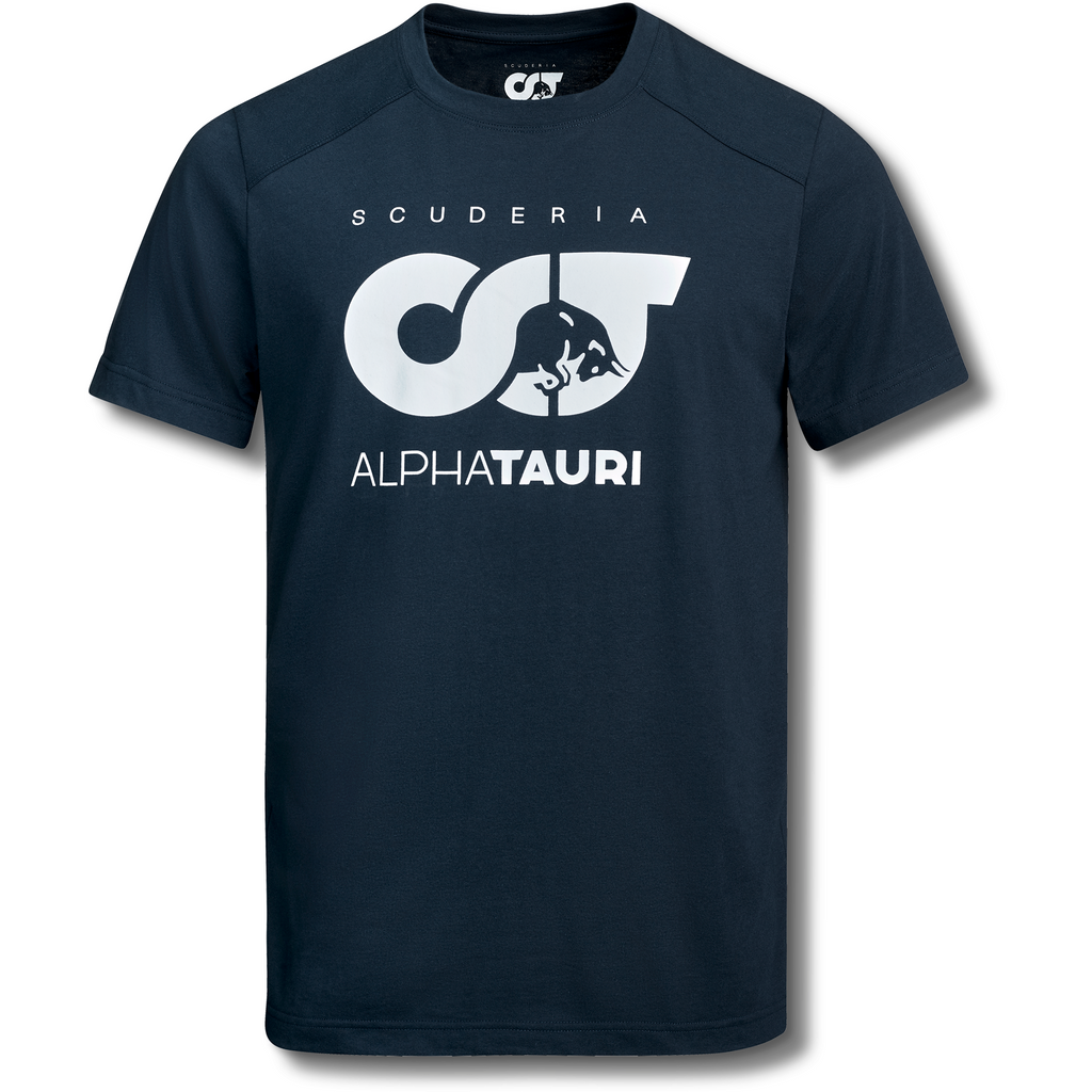 Scuderia AlphaTauri Men's Logo T-Shirt Blue/White