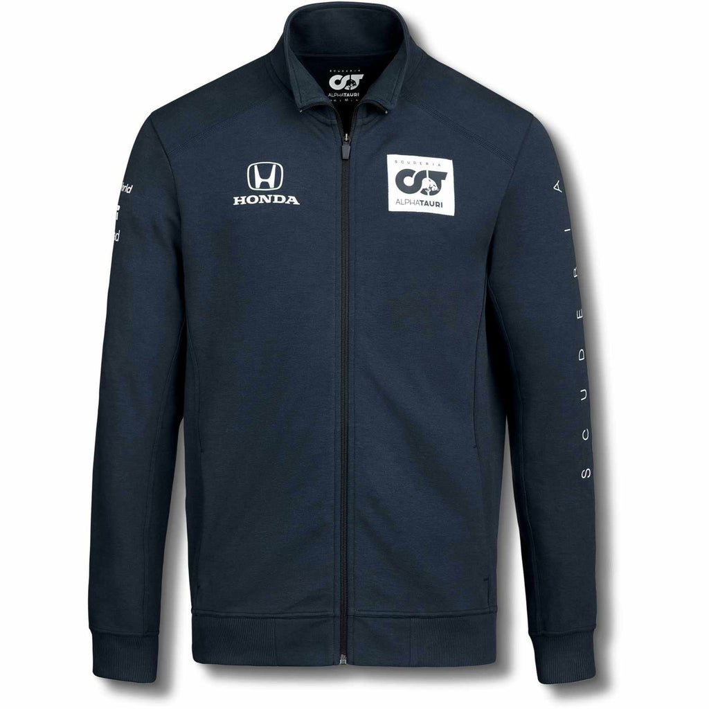 Scuderia AlphaTauri 2020 Men's Team Sweat Jacket Navy