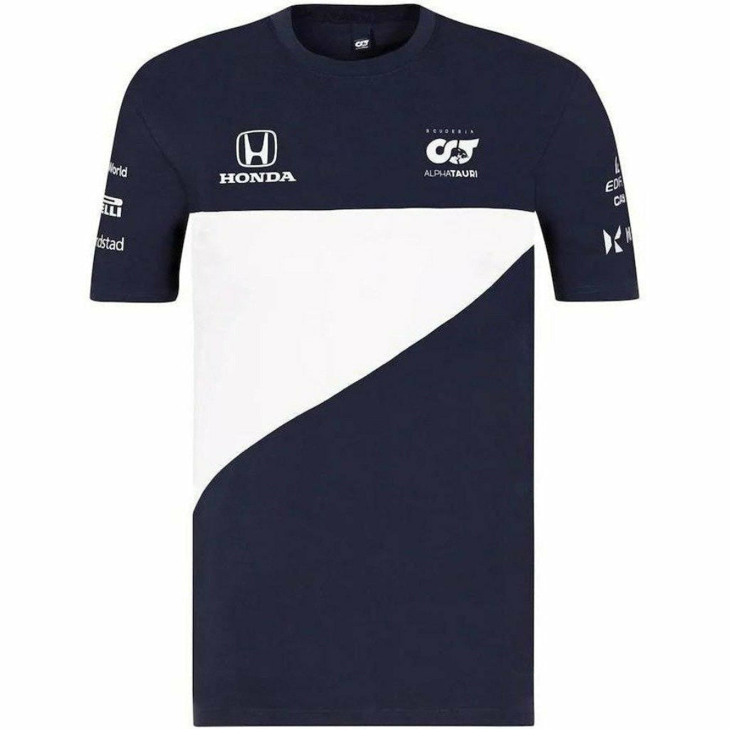 Scuderia AlphaTauri Men's 2021 Team T-Shirt-Navy