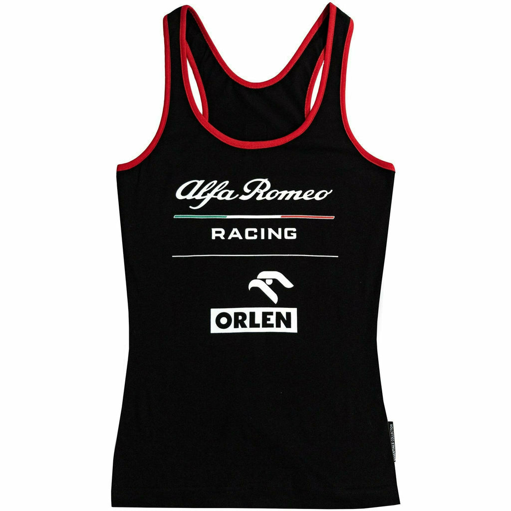 Alfa Romeo Racing F1 Women's Essential Tank Top Red/Black