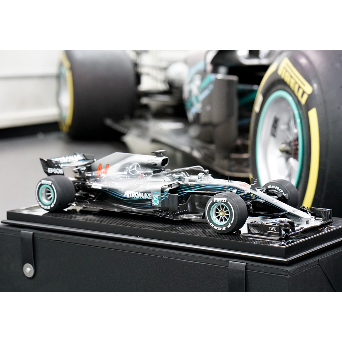 2b0ae508dc2 Mercedes AMG Petronas Lewis Hamilton 1 8 Scale Model Car Limited Edition. Mercedes  AMG Petronas Lewis Hamilton 1 8 Scale Model Car Limited Edition