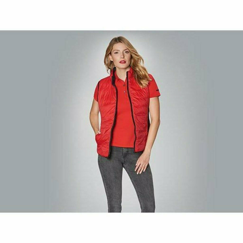 Porsche Women's 2 in 1 Multi Use Jacket with Vest Black/Red