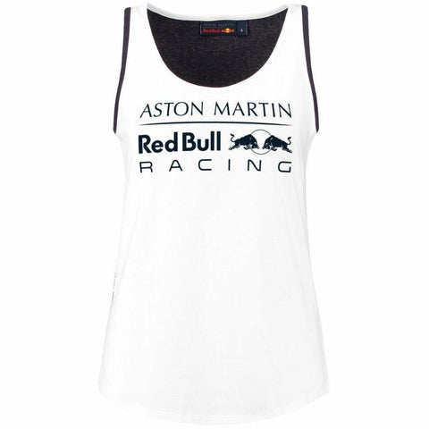 Red Bull Racing Formula 1 Women's 2018 White Tank Top