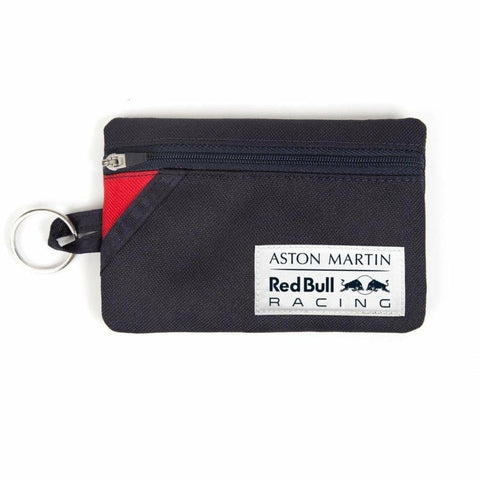 Red Bull Racing Formula 1 2018 Aston Martin Blue Keyring Coin Wallet