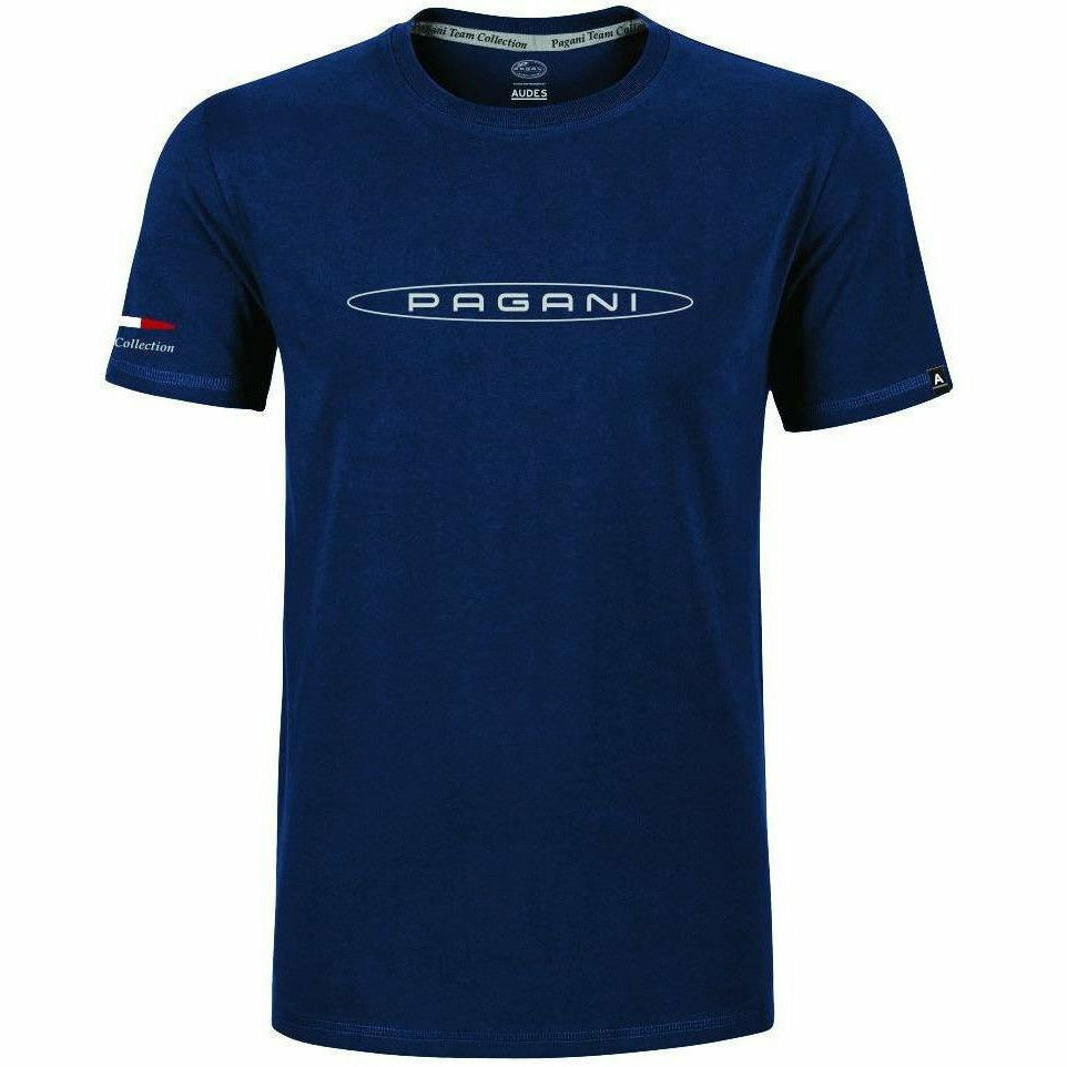 Pagani Automobili Men's T-Shirt Blue