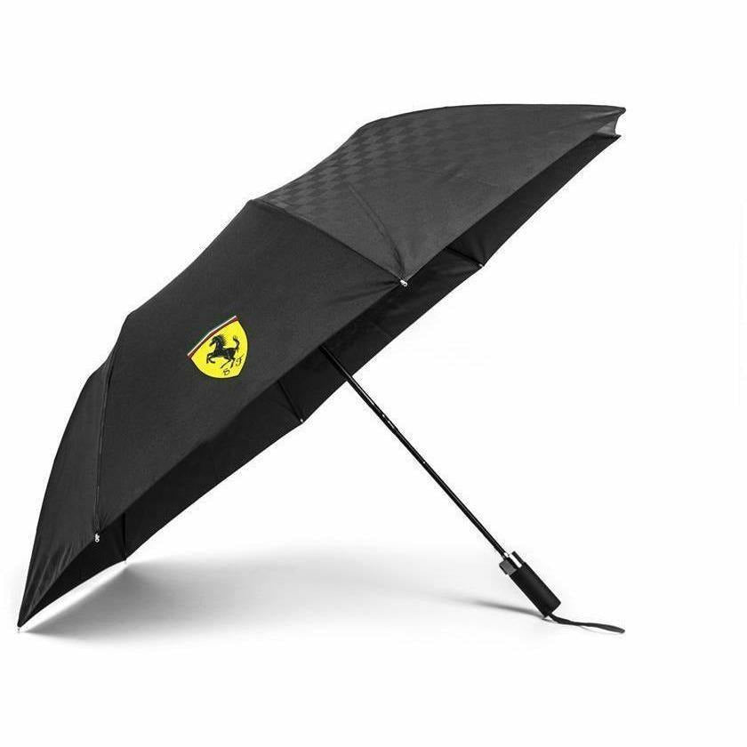 Scuderia Ferrari Formula 1 Authentic Black Compact Umbrella
