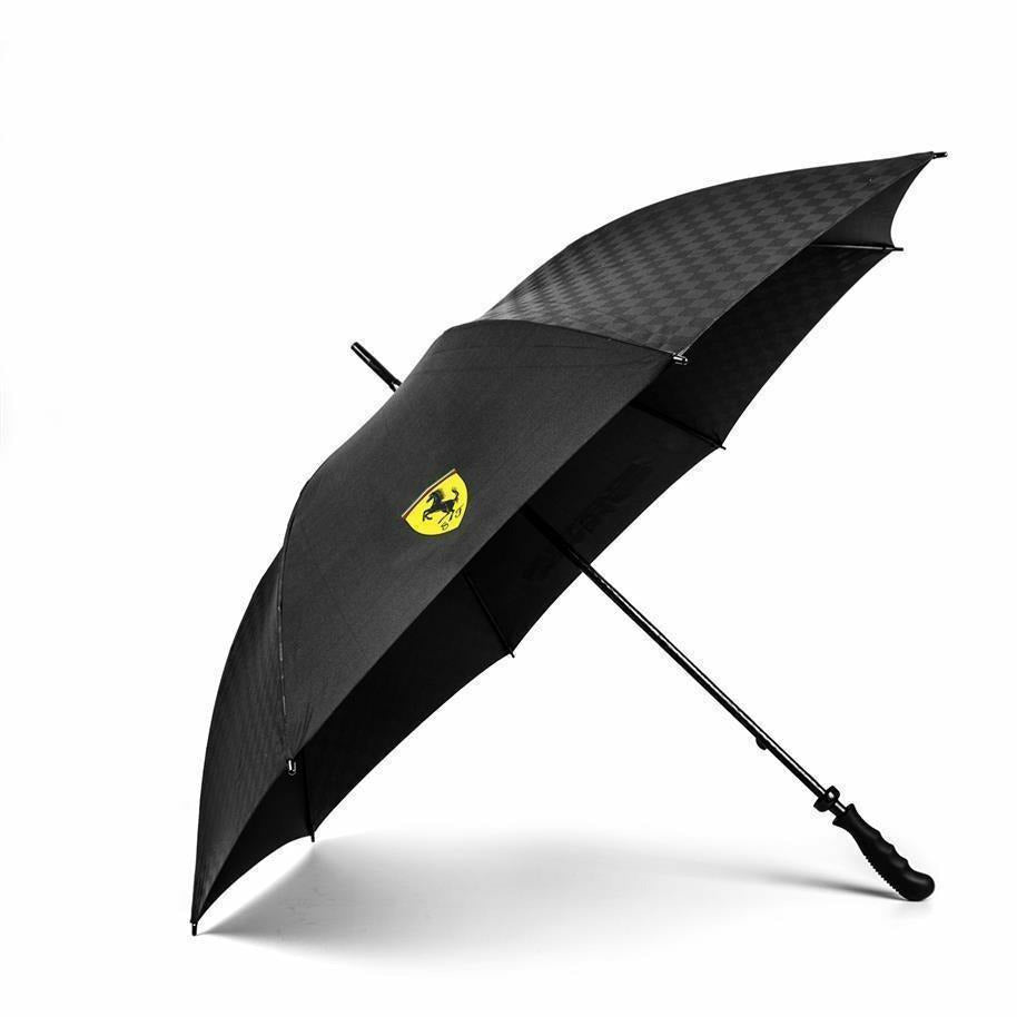 Scuderia Ferrari Formula 1 Authentic Black Large Umbrella
