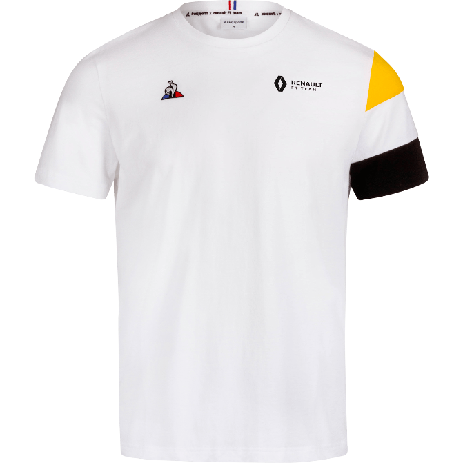 Renault F1 Men's Team WhiteT-Shirt