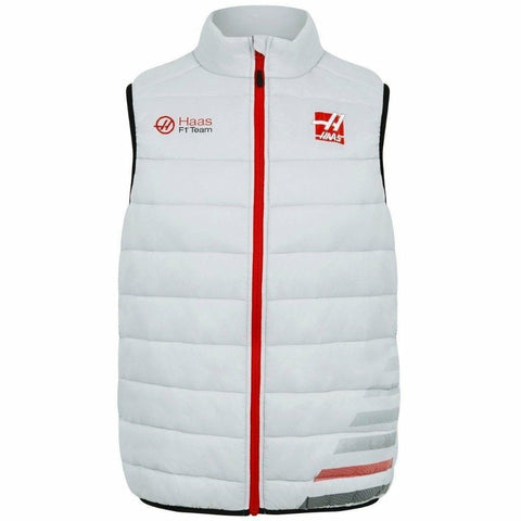 Haas American Team Formula 1 Authentic 2018 Men's Team Gray Vest