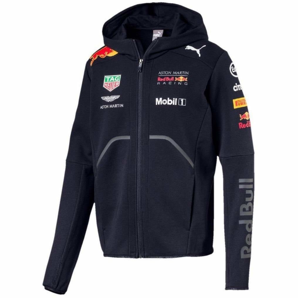 Red Bull Formula 1 Aston Martin 2018 Men's Team Blue Hooded Sweatshirt