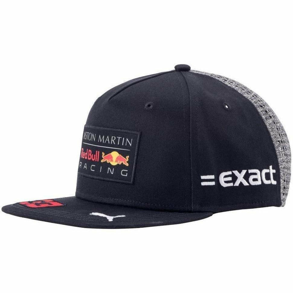 Red Bull Formula 1 Racing 2018 Aston Martin Max Verstappen Flatbrim Team Hat