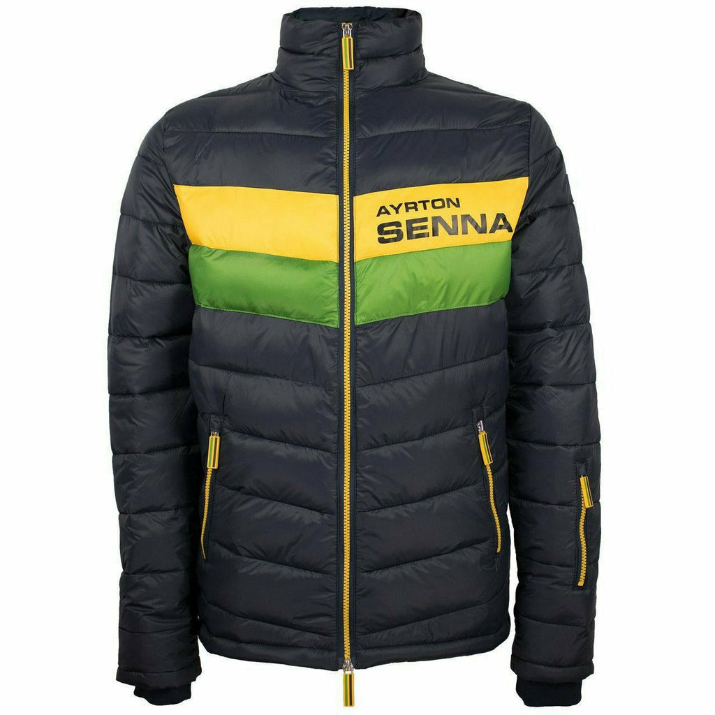Ayrton Senna Authentic Men's Track Jacket Navy