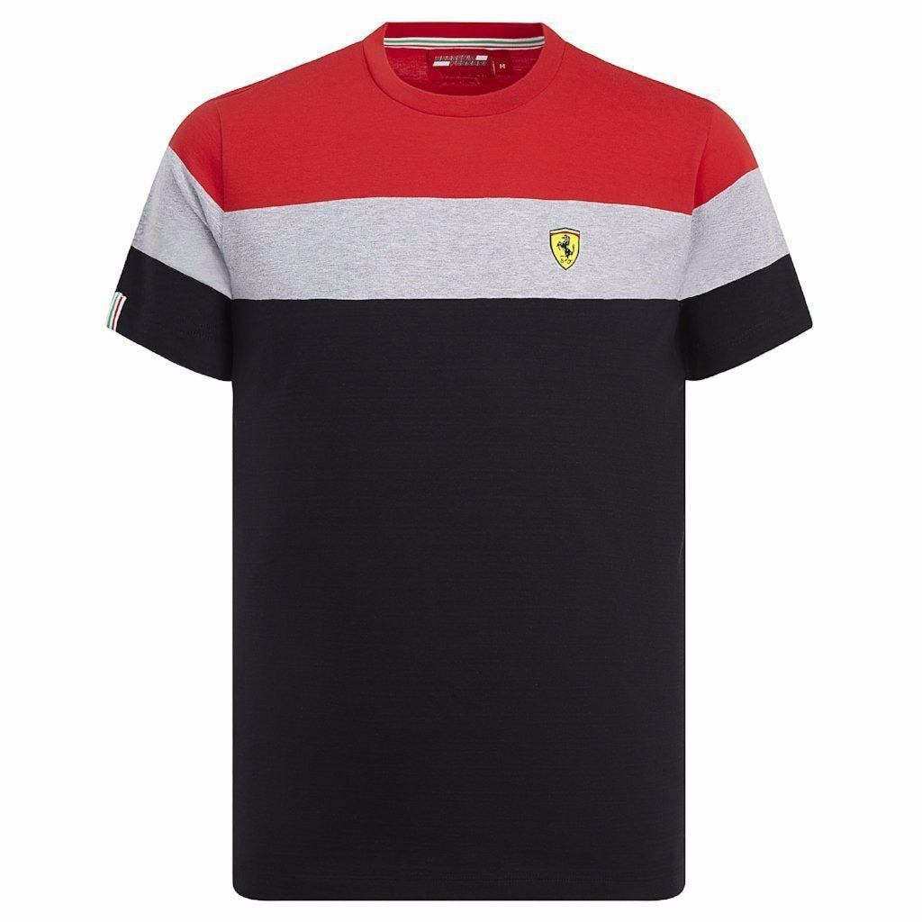 Scuderia Ferrari F1 Men's Block T-shirt