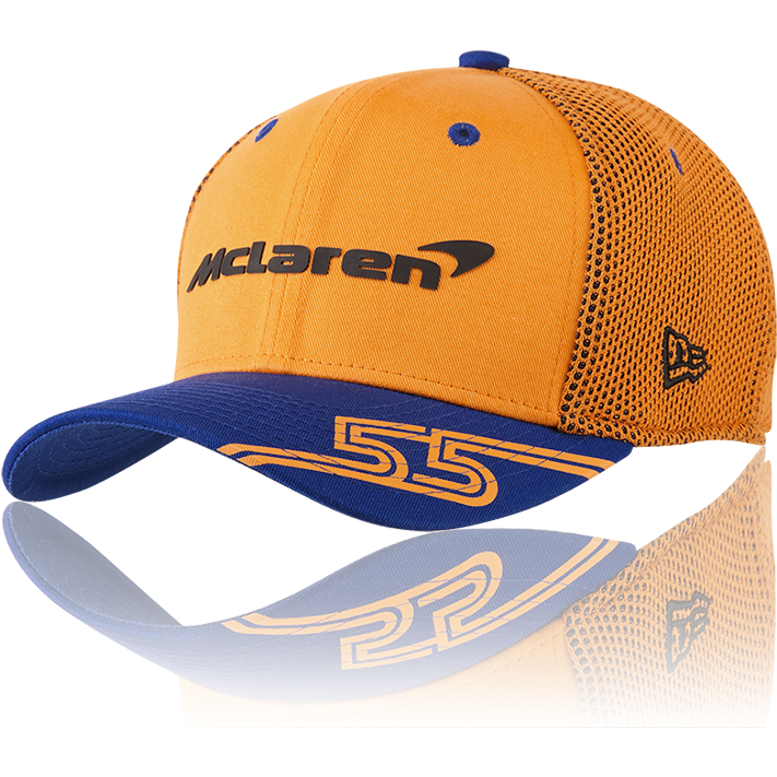 McLaren F1 2019 Carlos Sainz Kids Team Driver Hat Orange