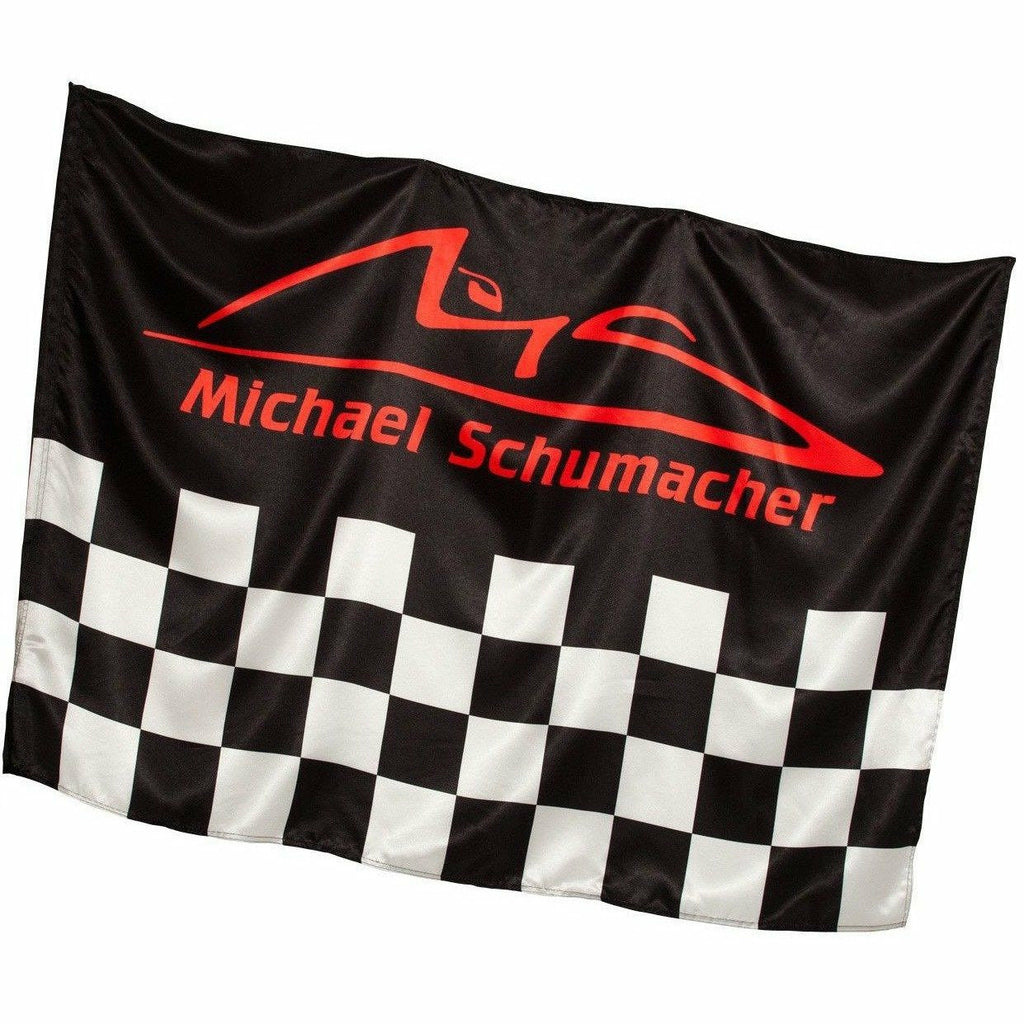 Michael Schumacher Authentic Checkered Flag