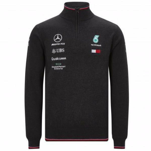 Mercedes AMG Petronas Motorsport Men's 2019 F1 Knitted Jumper
