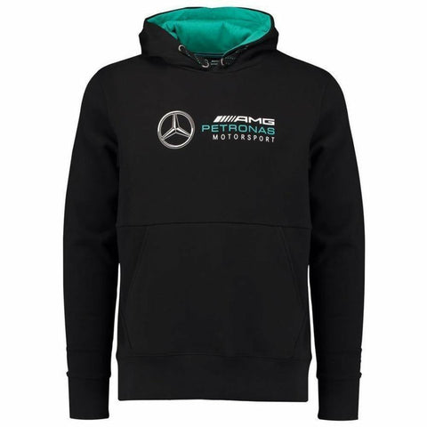 Mercedes Benz AMG Petronas Formula 1 Men's Black 2018 MAMGP Hooded Sweatshirt