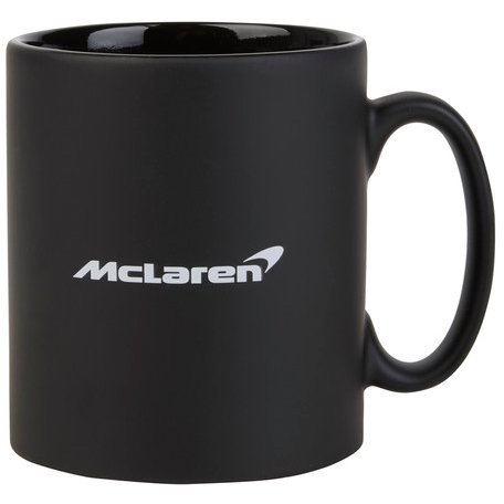 McLaren Official Black Logo Mug