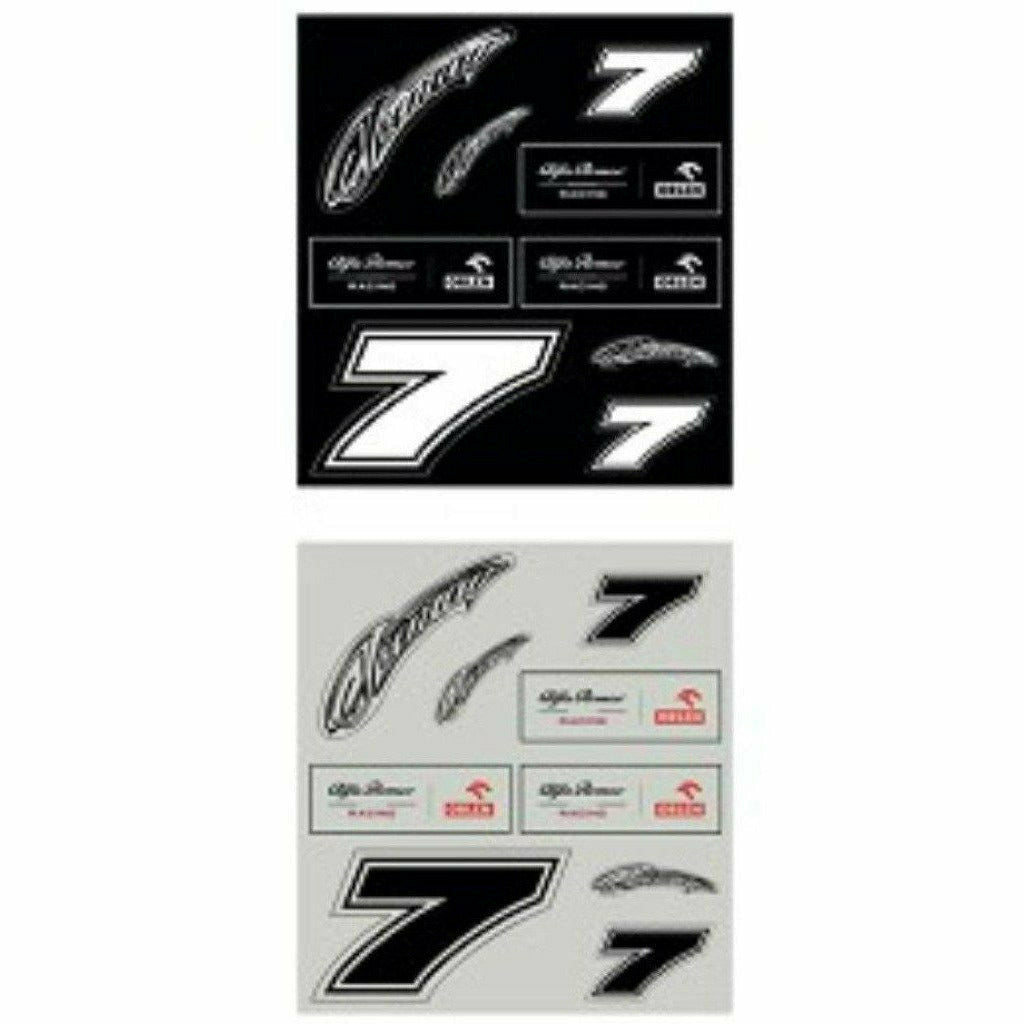 Alfa Romeo Racing F1 Team/Kimi/Antonio Sticker Set