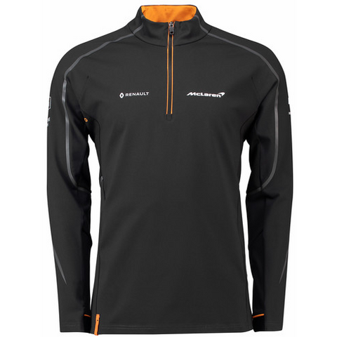 McLaren Renault Formula 1 Men's 2018 Team 1/4 Zip Sweatshirt