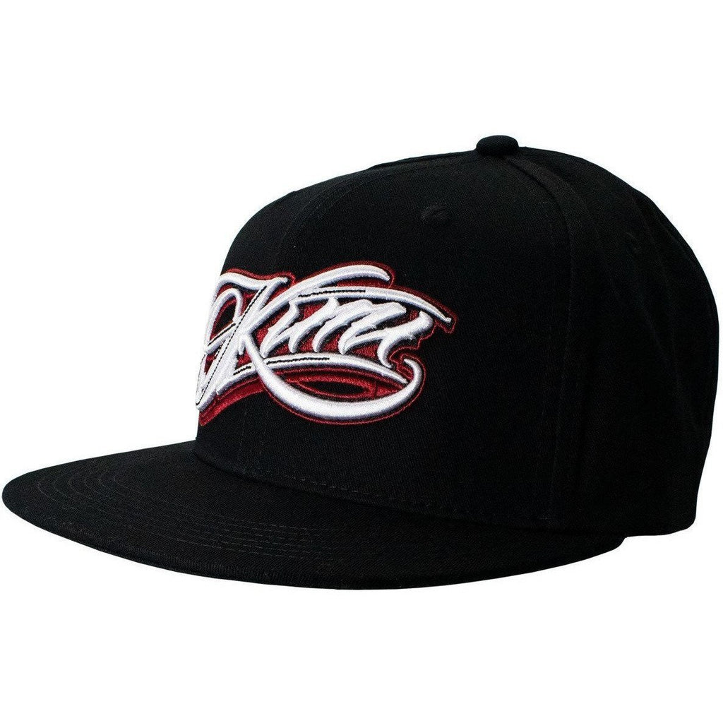 Kimi Räikkönen West Coast Choppers Hat Script Logo Flatbrim Black