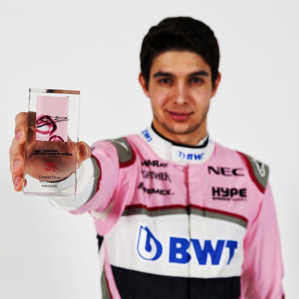 Sahara Force India Esteban Ocon Bodywork in Acrylic