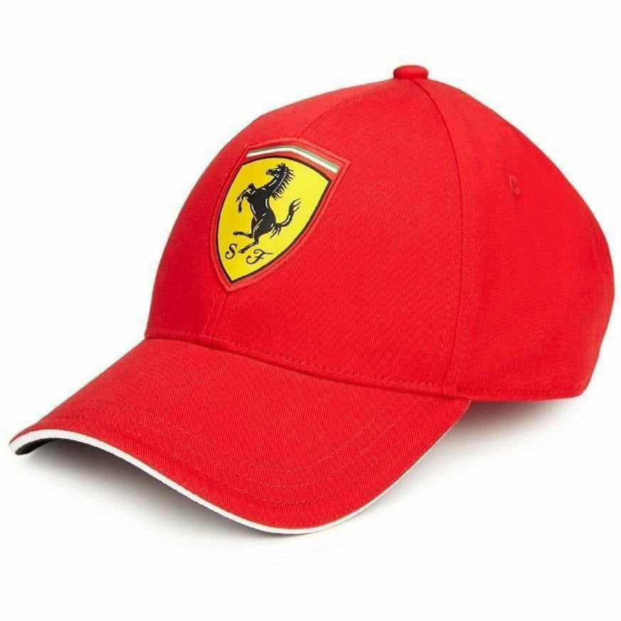 Scuderia Ferrari Red Classic Kids Adjustable 2018 Red Hat