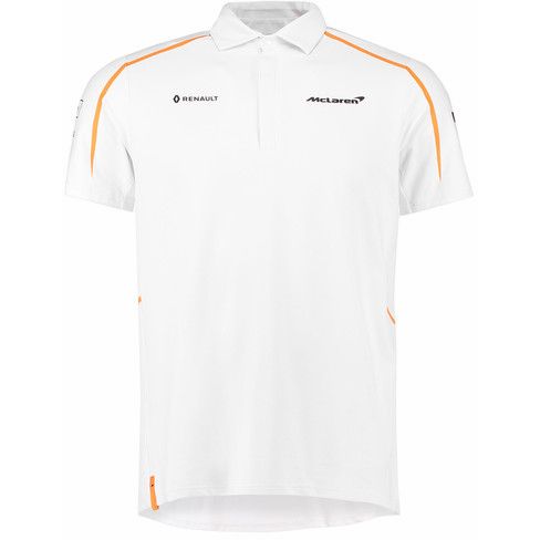 McLaren Renault Formula 1 Men's 2018 Team White Polo
