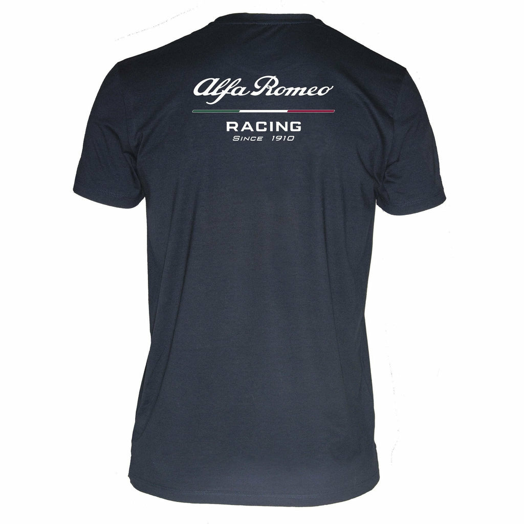 Alfa Romeo Racing F1 Men's Blue T-shirt