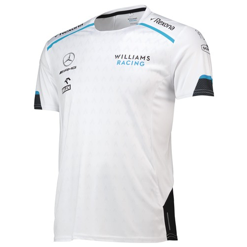Williams Racing 2019 Men's Team T-Shirt White