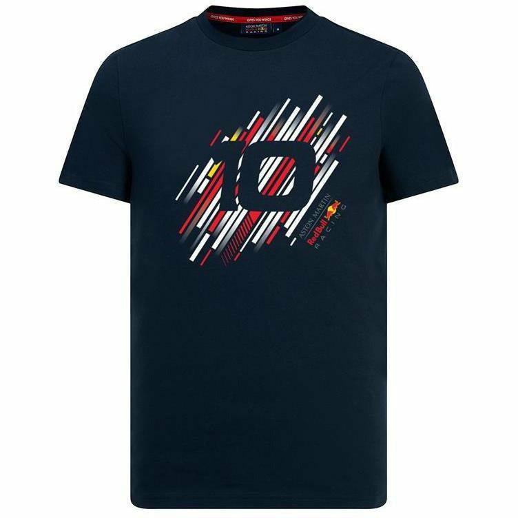 Red Bull Racing F1 Pierre Gasly #10 Blue T-Shirt