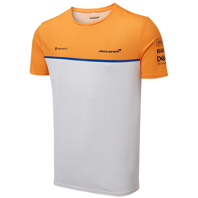 McLaren F1 2019 Men's Team T-Shirt White