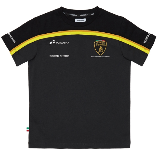 Automobili Lamborghini Gold 2019 Men's Black T-Shirt