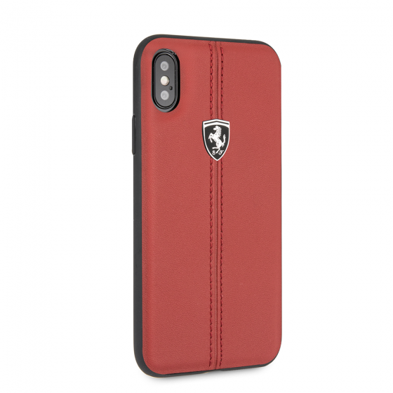 FERRARI GENUINE RED LEATHER HERITAGE CASE