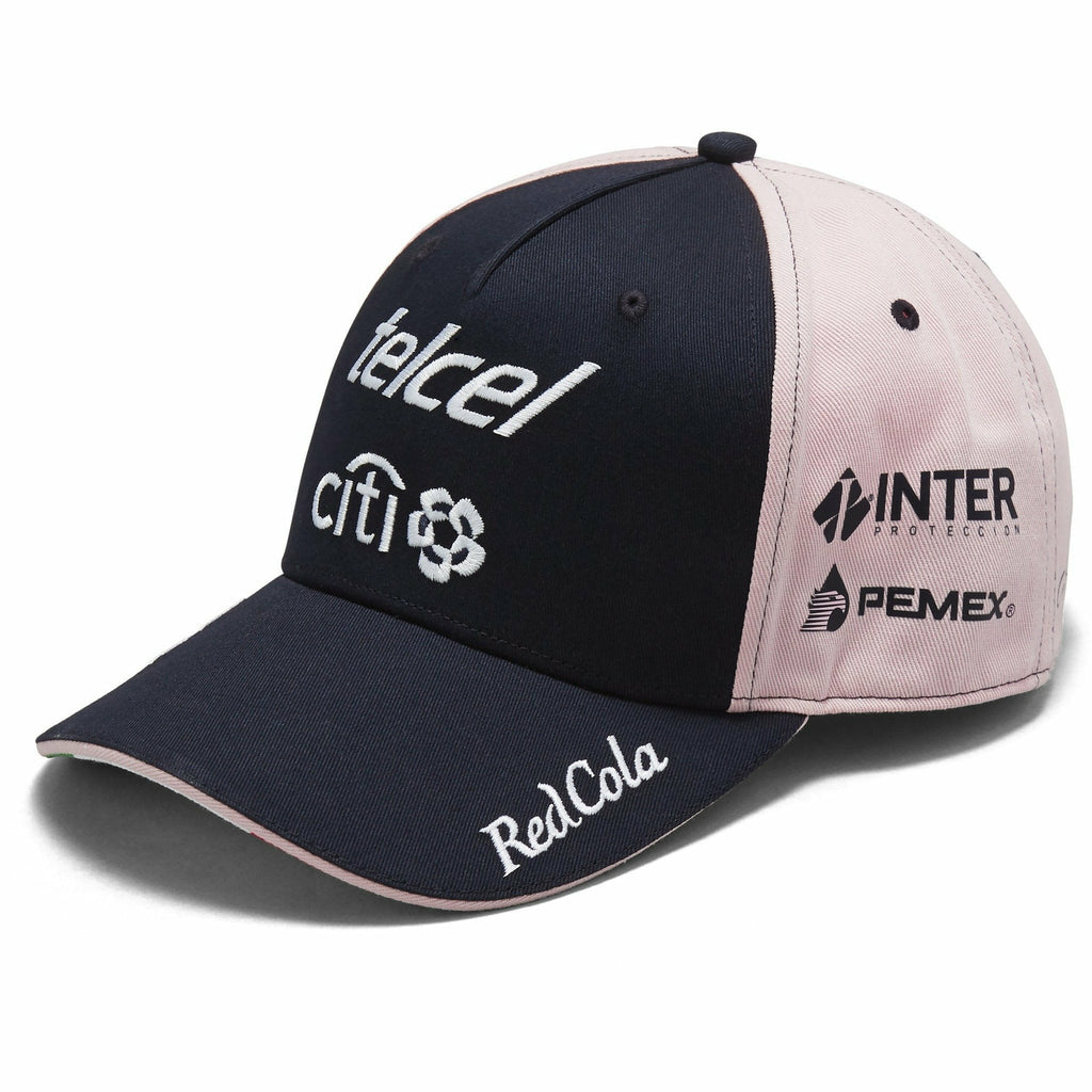 "Sahara Force India Formula 1 2018 Pink Sergio ""Checo"" Perez #11 Team Hat"