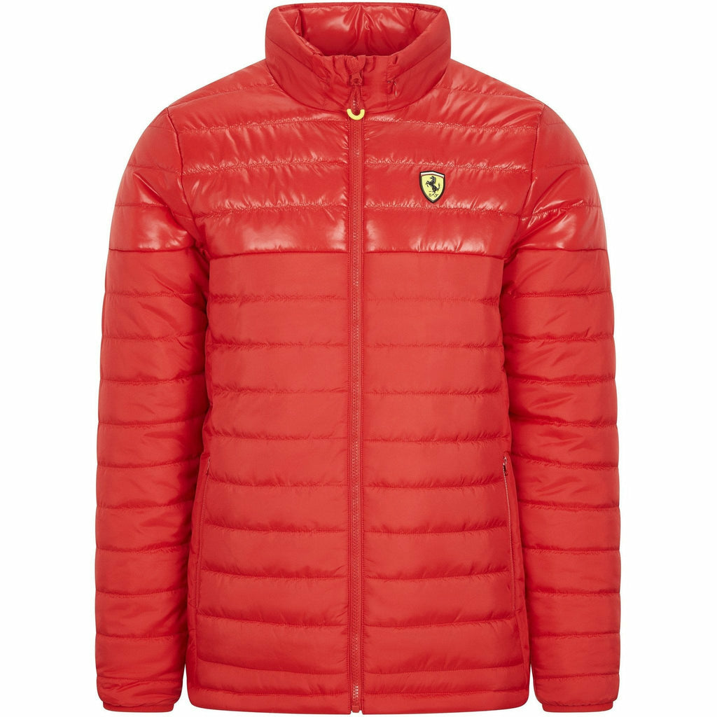 Scuderia Ferrari F1 Men's Padded Jacket Black/Red
