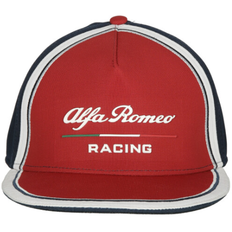 Alfa Romeo 2019 Kids Flat Brim Team Hat