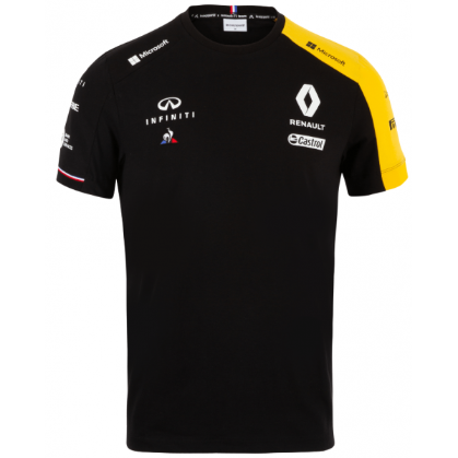 Renault F1 2019 Kids Team T-Shirt Black