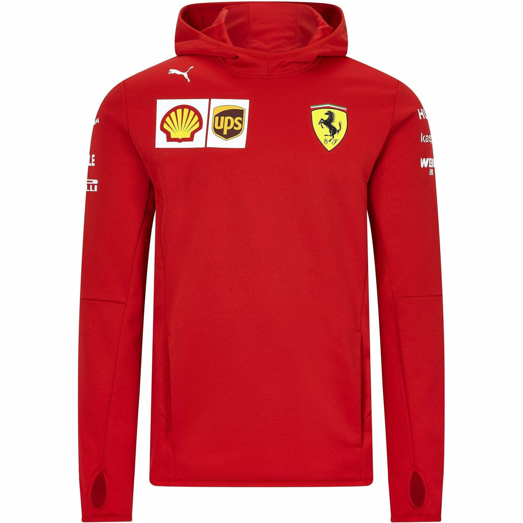 Scuderia Ferrari F1 Men's 2020 Team Tech Fleece Red