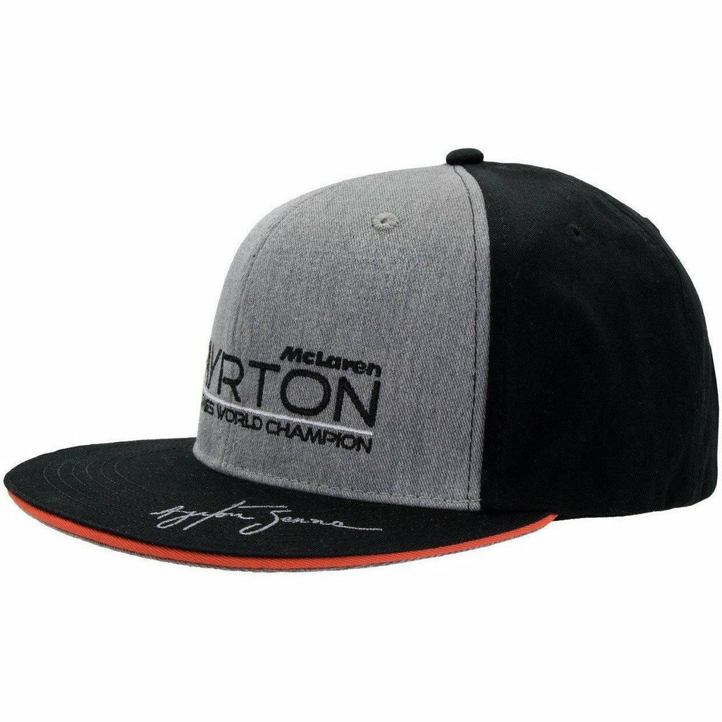 Ayrton Senna Authentic Black McLaren World Champion 1988 Hat