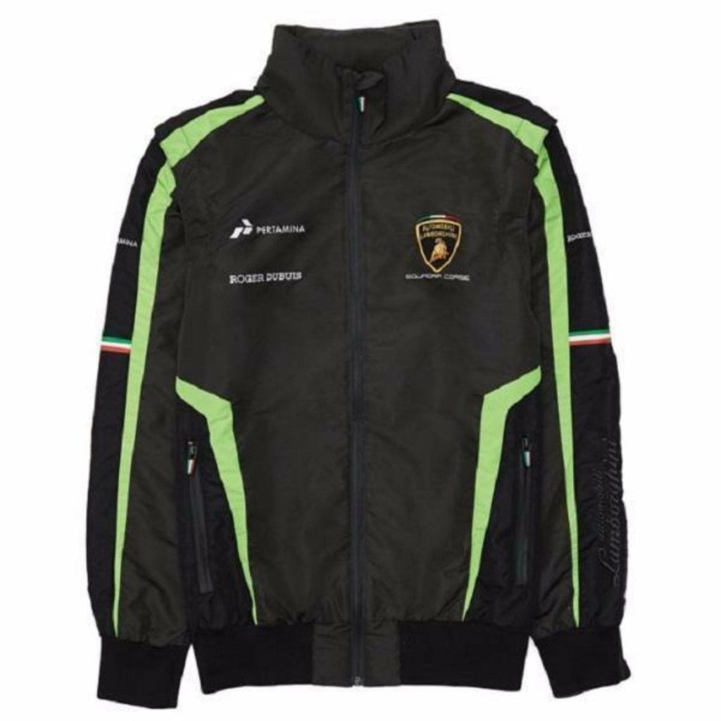 Automobili Lamborghini Squadra Corse 2019 Men's Windbreaker Black