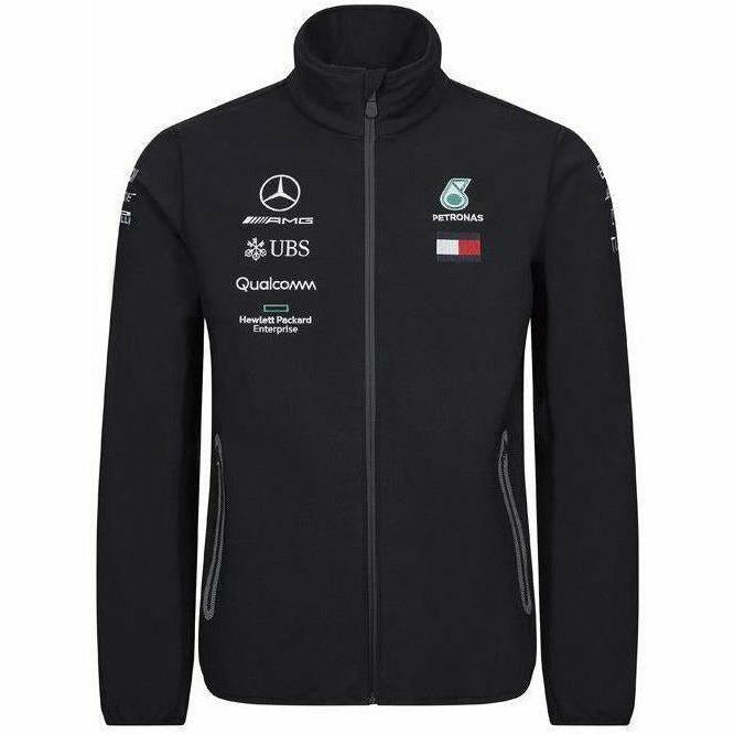 Mercedes-AMG Petronas Motorsport 2019 F1 Team Softshell Jacket Black