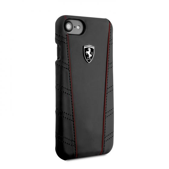 FERRARI IPHONE 6/7/8 OFF TRACK COLLECTION PU LEATHER HARD CASE