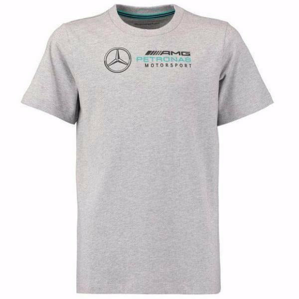 Mercedes-AMG Petronas Motorsport Kid's Logo T-Shirt Grey