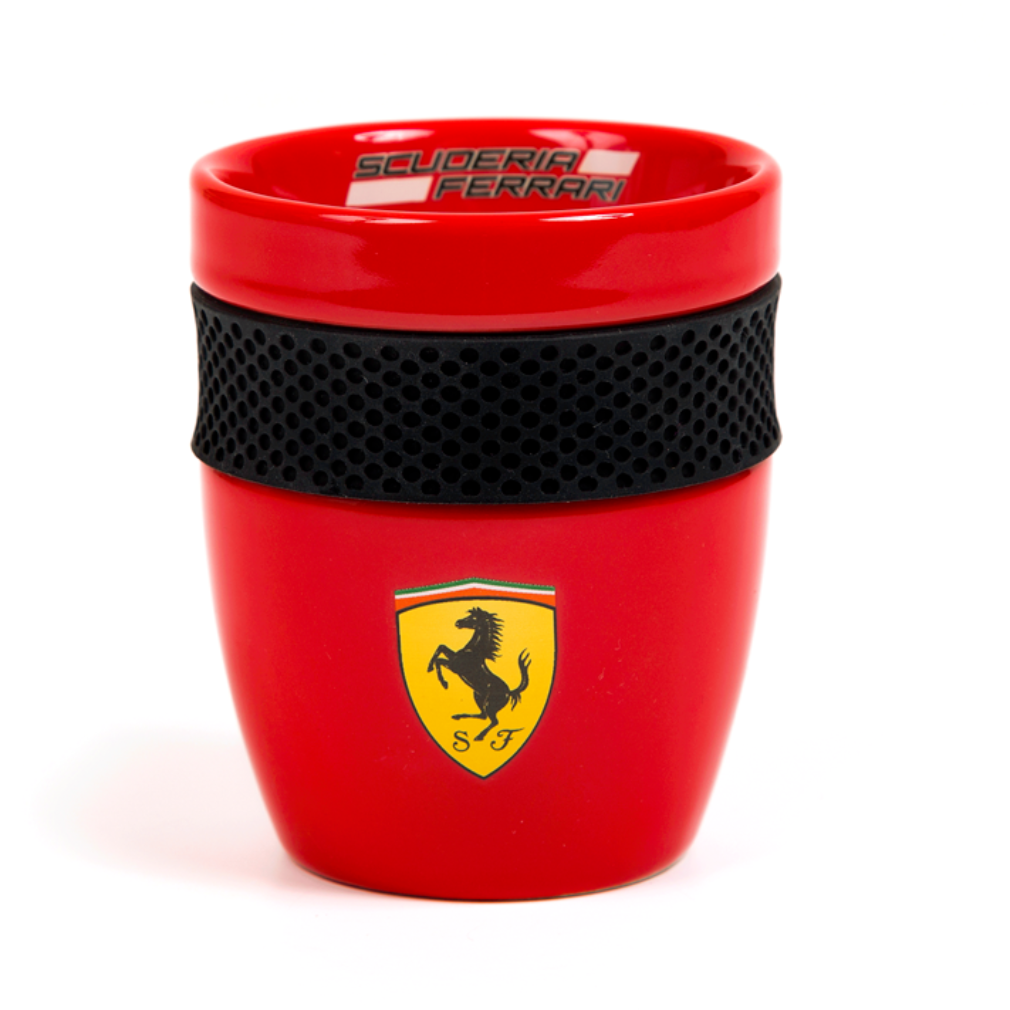 Scuderia Ferrari Formula 1 Authentic 2018 Red Mug w/Rubber Grip