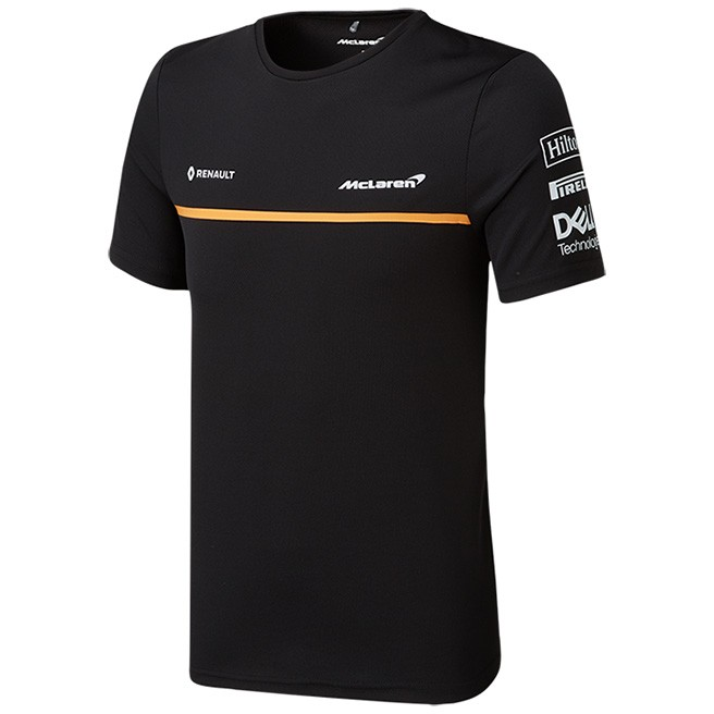 McLaren F1 2019 Men's Team Set Up T-Shirt Black