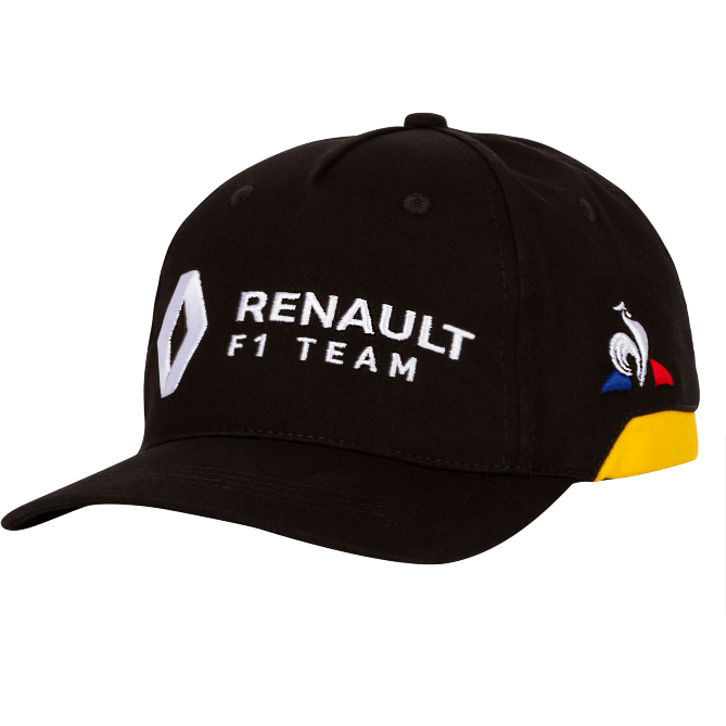 Renault F1 2019 Kids Team Hat Black