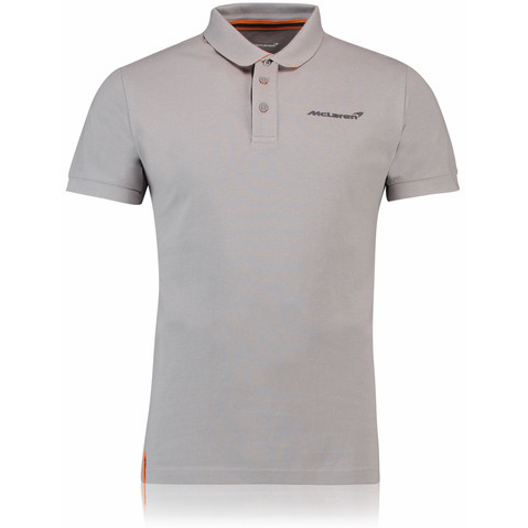 McLaren Renault Formula 1 Men's 2018 Essentials Gray Polo