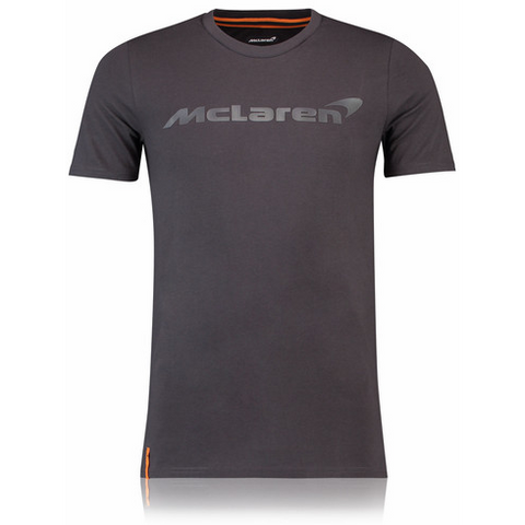 McLaren Renault Formula 1 Men's 2018 Essentials Anthracite T-Shirt